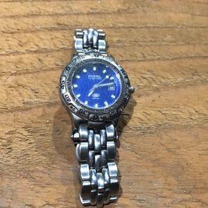 Fossil women's blue watch